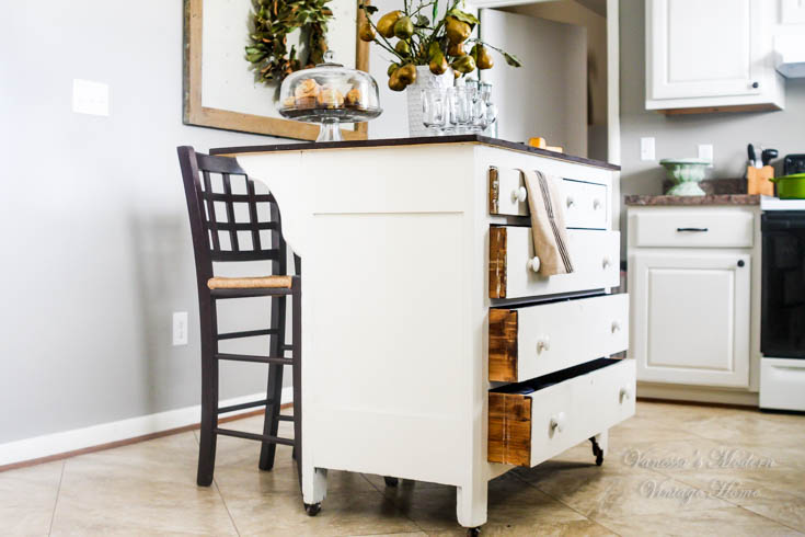 Need Kitchen Storage Make A Kitchen Island From A Dresser